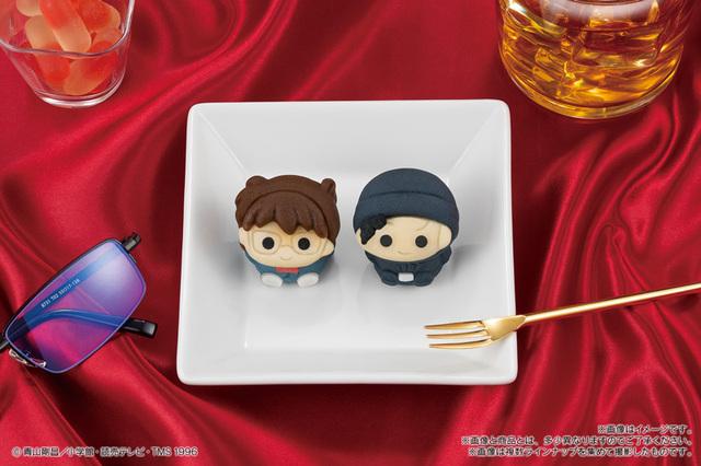コナンと赤井が和菓子「食べマス」として4月23日より全国販売!「名探偵コナン 緋色の弾丸」公開記念