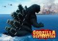 ゴジラになって世界中の都市を破壊する爽快アクションゲーム!「ゴジラ デストラクション」ついに本日全世界リリース!