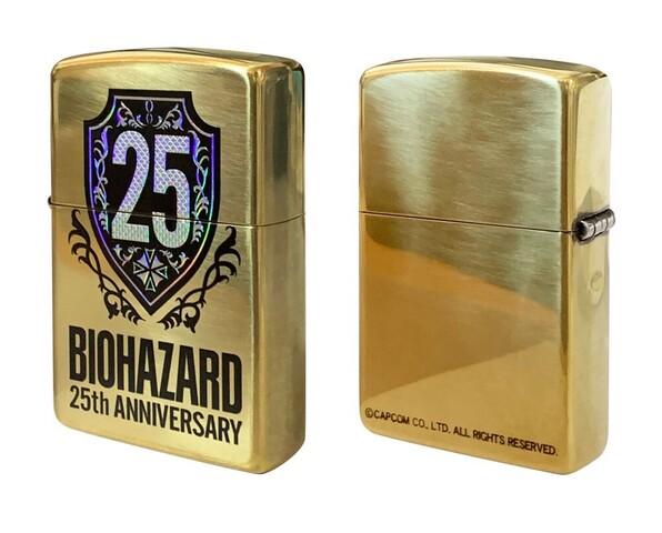 「バイオハザード」25周年を記念した特殊加工のZippoが発売!