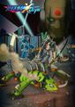 スマホゲーム「ロックマンX DiVE」、ハーフアニバーサリー記念イラスト公開! 高精細アクリルアートが当たる!