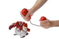 KOされるとブッ飛ぶ⁉ 爽快バトルロボット「人機一体 ブットバスター」6月26日発売!