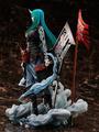 スマホRPG「アークナイツ」から、「飆」シリーズ「流離いの旗印」のコーディネートをまとったホシグマのフィギュアが登場!