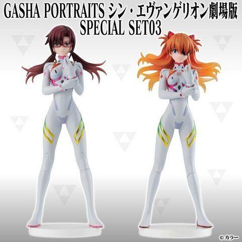 アスカ、マリがセットになった「GashaPortraits シン・エヴァンゲリオン劇場版 Special SET」第3弾が登場!
