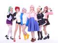 TVアニメ「女神寮の寮母くん。」、主題歌CDの店舗別購入特典が決定! 主題歌を歌う女神寮生+αのアーティスト写真が公開!!