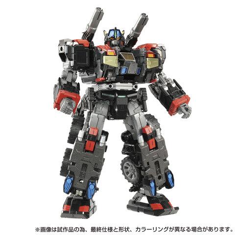 【タカラトミーモール限定!】黒いボディがカッコイイ! 「ダイアクロン DA-79 バトルコンボイV-SHADOW」予約受付中!