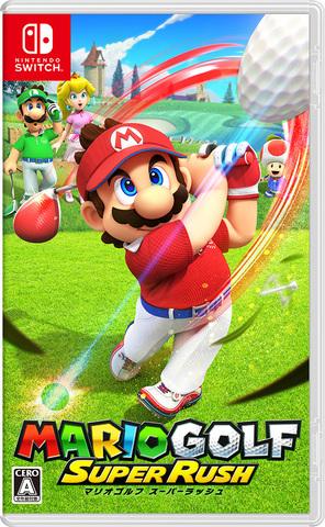 Switch「マリオゴルフ スーパーラッシュ」6月25日発売! 最大4人のオンライン対戦も可能