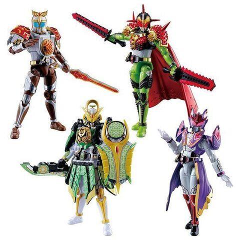 「SO-DOCHRONICLE 仮面ライダー鎧武」、4ライダーがひとつになった超豪華セットがプレミアムバンダイ限定で登場!