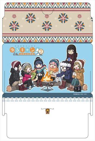 「ゆるキャン△ SEASON2」マスク&ケースセット全3種の予約がスタート!