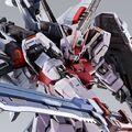 「機動戦士ガンダムSEED」より、オオトリ装備のストライクルージュがMETAL BUILDに登場! 実体剣刃を装備した大型対艦刀を搭載し、主翼を始めとした各所が可動!!