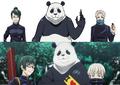 「劇場版 呪術廻戦 0」真希・狗巻 棘・パンダの設定画を公開! TVアニメ版から変化したポイントは?