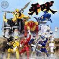 \命あるところ、正義の雄叫びあり!/スーパー戦隊ヒーローのアクションフィギュアシリーズ「SHODO SUPER」に「百獣戦隊ガオレンジャー」が6人そろって登場!