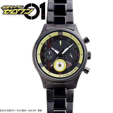 「仮面ライダーゼロワン」から、世界観を表現しつつ、実用性も兼ね備えたクロノグラフ腕時計が登場!