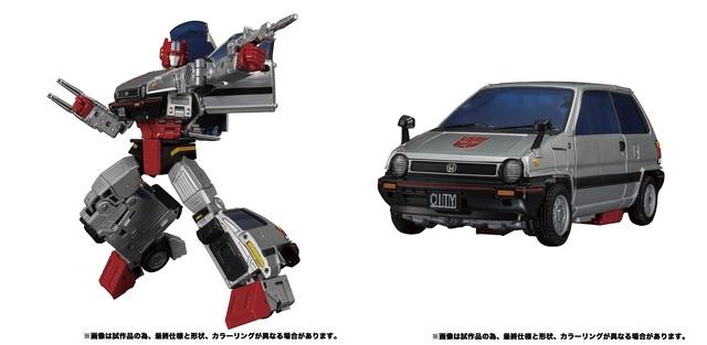 【タカラトミーモール限定「トランスフォーマー」商品】ホンダシティRがロボットに変形する「クロスカット」など、4アイテムが予約受付開始!