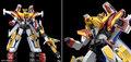 「伝説の勇者ダ・ガーン」より「ガ・オーン」が登場! 別売りの「ダ・ガーンX」と合体させて「グレートダ・ガーンGX」を完全再現!!