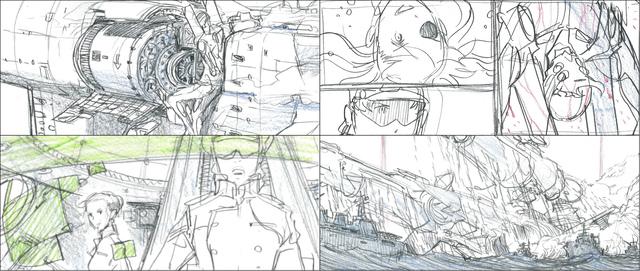 「ヱヴァンゲリヲン新劇場版:Q EVANGELION:3.333」より特典映像「前田真宏イメージボード集」の一部を公開!