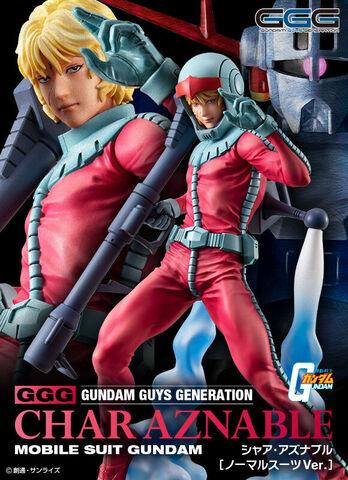 GGG最新弾!「機動戦士ガンダム」より、最終話に見せた名シーンを彷彿させるノーマルスーツ姿のシャア・アズナブルが登場