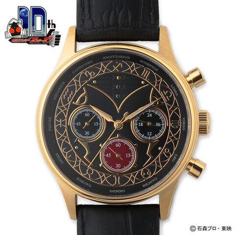 「仮面ライダーフォーゼ」10周年記念!  ホロスコープスをイメージしたクロノグラフ腕時計が登場!