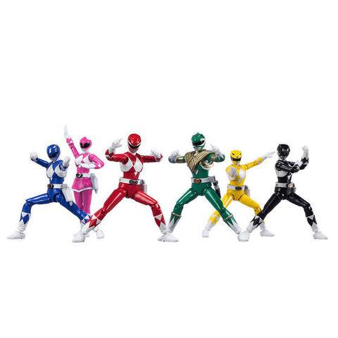 スーパー戦隊ヒーローのアクションフィギュアシリーズ「SHODO SUPER」に恐竜戦隊ジュウレンジャーが6人そろって登場!