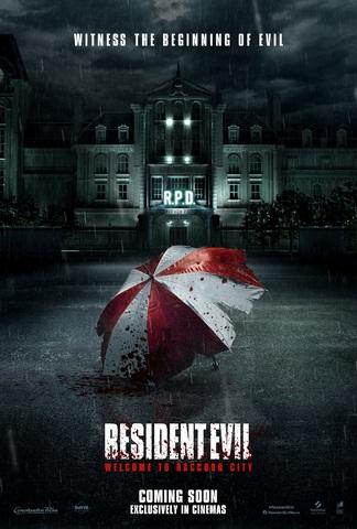 映画「バイオハザード:ウェルカム・トゥ・ラクーンシティ」2022年公開! 予告映像とポスターを世界一斉解禁!