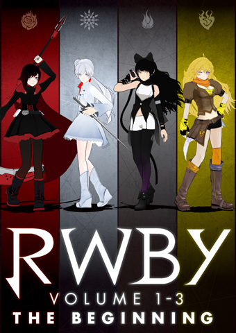 RWBY Volume 1-3: The Beginning