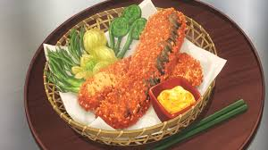 ゆきひら流岩魚のお柿揚げ