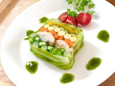 9種類の野菜のテリーヌ