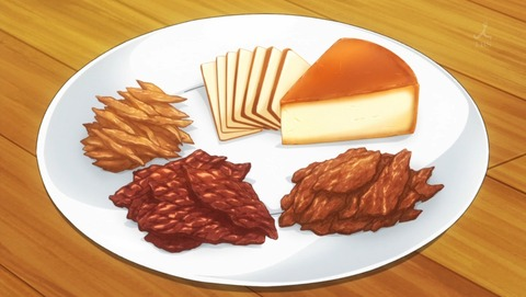 スモークチーズと3種のジャーキー
