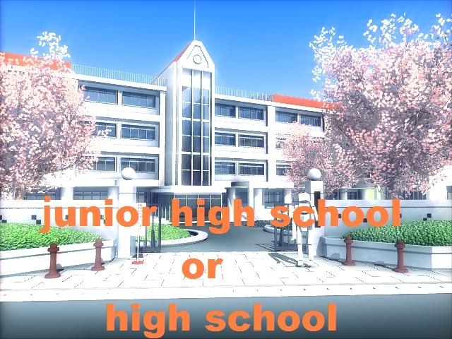 【祝・新年度】 アニメに出てくる中学・高校 ✨