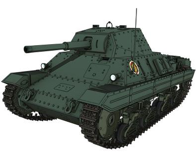 【アンツィオ】P40型重戦車