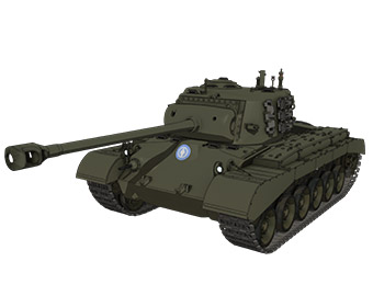 M26パーシング重戦車