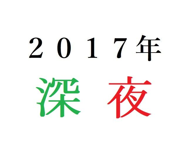 17年深夜アニメ人気投票