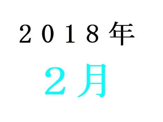 18年2月冬アニメ人気投票