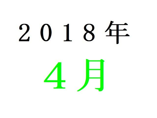 18年4月春アニメ人気投票