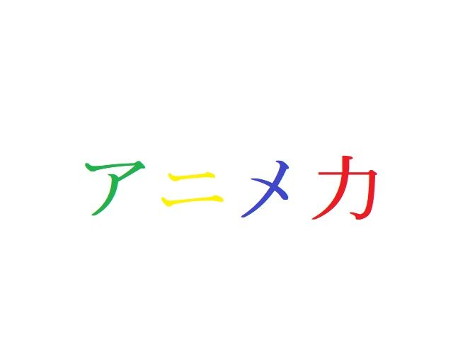 アニメ力投票