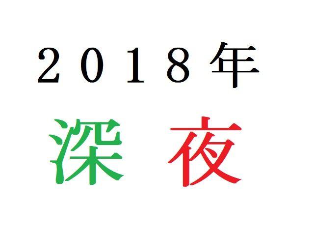 18年深夜アニメ人気投票