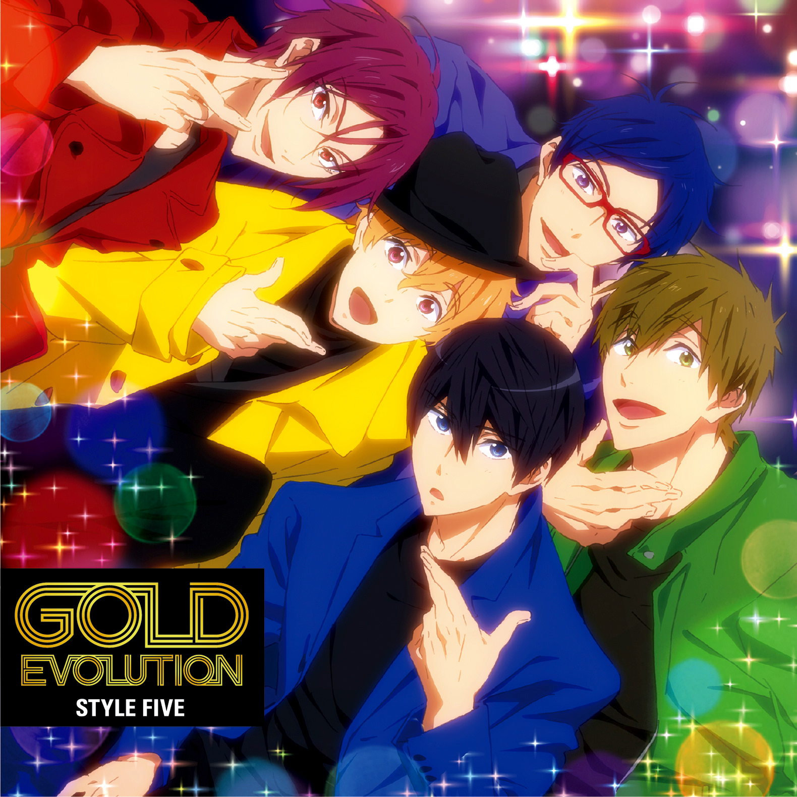 白「GOLD EVOLUTION」