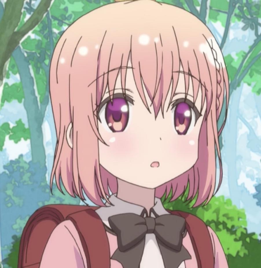 桜木 ひな子 幼少期(声 - 栗本有規 10歳)