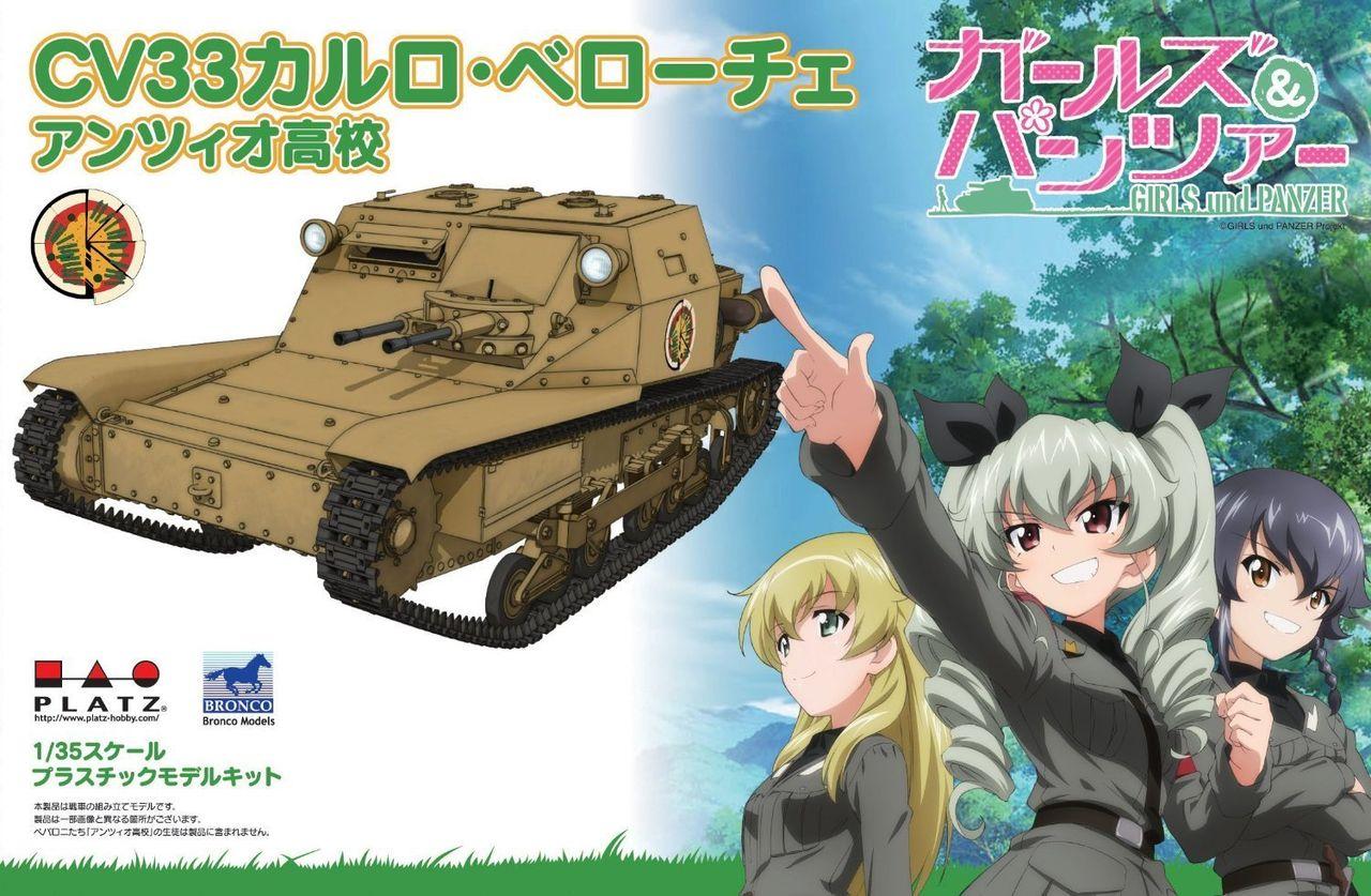 【アンツィオ】CV33型快速戦車