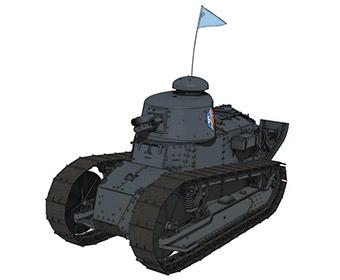 【BC自由】ルノーFT-17