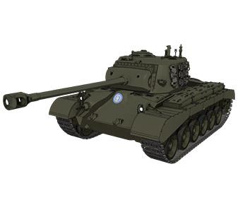 【大学選抜】M26パーシング重戦車