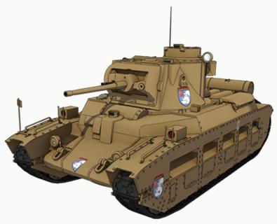 【聖グロリアーナ】マチルダⅡ歩兵戦車 Mk.Ⅲ/Ⅳ