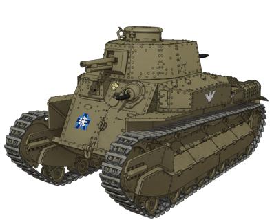 【大洗女子】八九式中戦車甲型