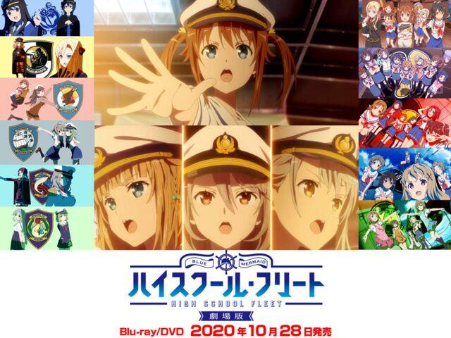 劇場版BD発売&再放送記念 ハイフリ キャラランキング