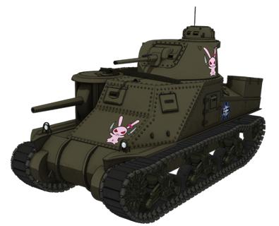 【大洗女子】M3中戦車リー
