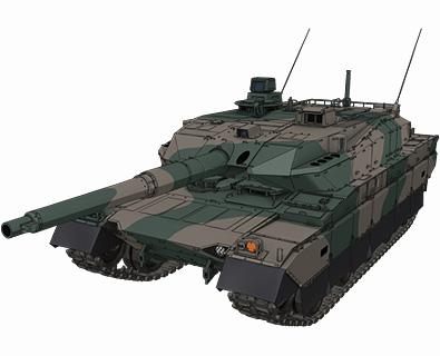 【陸上自衛隊】10式戦車
