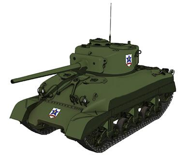 【サンダース】M4A1シャーマン