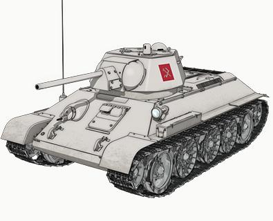 【プラウダ】T-34/76