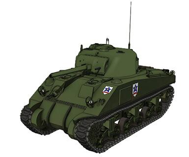 【サンダース】M4シャーマン 75mm