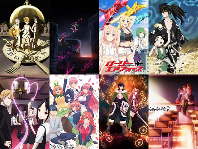 今期完走したアニメは?2019冬アニメ人気投票