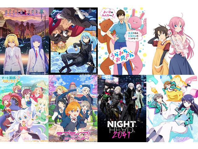 来期は何を観る!? 観たい2021夏アニメ人気投票